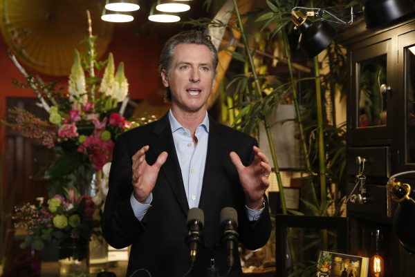 Newsom declares California will be a vote-by-mail state